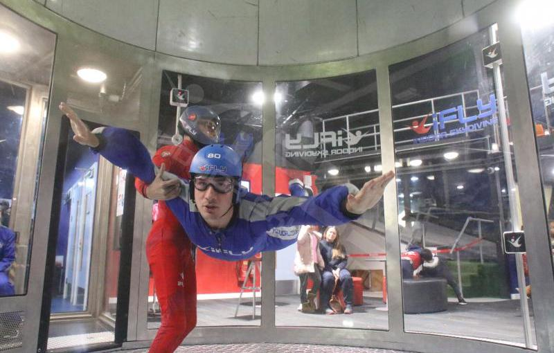 TRYING SOMETHING NEW | INDOOR SKYDIVING